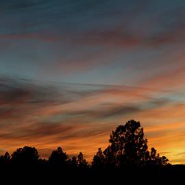 Jason Coward - Sun Pillar Sunset