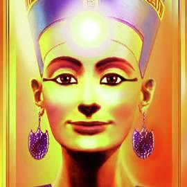 Sun  Queen  Nefertiti by Hartmut Jager