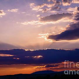 Alana Ranney - Sun Rays Over Saddle Back Mt