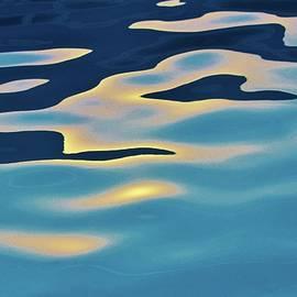 Sun Reflection In Pool by Cynthia Guinn