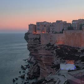 sun setting over Bonifacio - Corsica - Joana Kruse