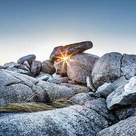 Sunburst at Peggy's Cove, Nova Scotia by Mike Organ