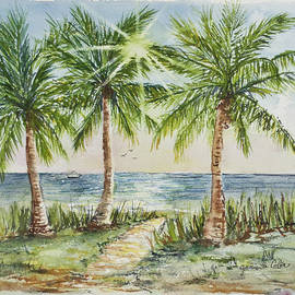Sunburst Beach Morning by Janis Lee Colon