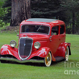 Catherine Sherman - Sunday Drive in an Antique Ford