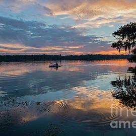 Bonnie Barry - Sundown Kayaking at Lake Martin Louisiana