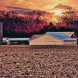 William Sturgell - Sundown on the Farm