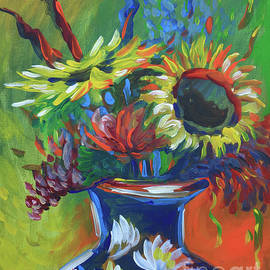 Vanessa Hadady BFA MA - Sunflower Bouquet
