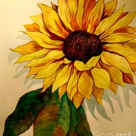 Sunflower Flames by Jacquie King