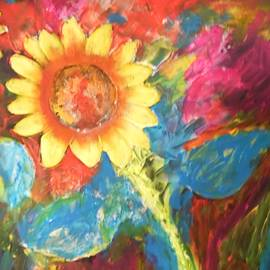 Sunflower Song by Esther Newman-Cohen