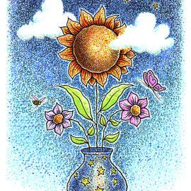Sunflower Star Vase