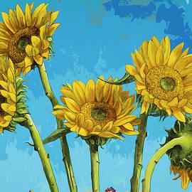 David Palmer - Sunflowers #5