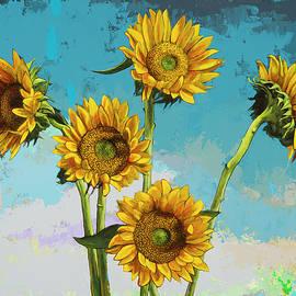 David Palmer - Sunflowers #6