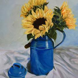 Sandra Nardone - Sunflowers in Milkcan