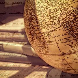 Sunlit Globe by Jim Love
