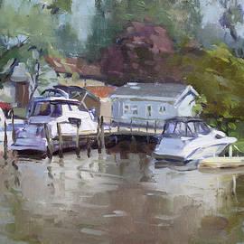 Ylli Haruni - Sunny Sunday at the Canal