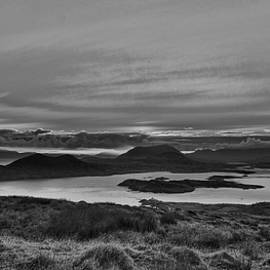 Sunrise 2 Valentia island BW #f2 by Leif Sohlman
