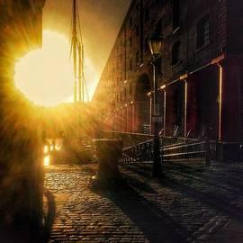 Joan-Violet Stretch - Sunrise At Albert Dock 2