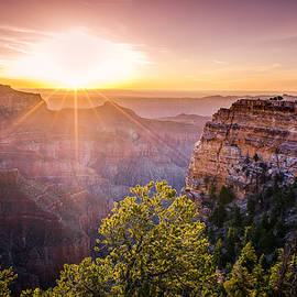 Sunrise At Angel's Window Grand Canyon by Scott McGuire