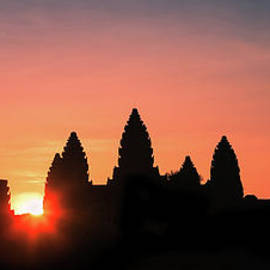 Sunrise at Angkor Wat by Henk Meijer Photography