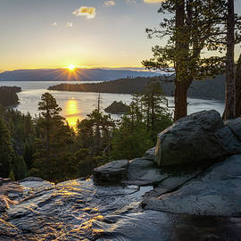 James Udall - Sunrise at Emerald Bay in Lake Tahoe