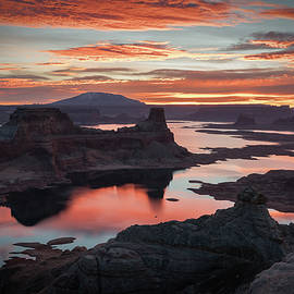 James Udall - Sunrise at Lake Powell