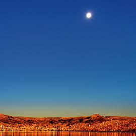 Oscar Gutierrez - Sunrise at Puno, Peru
