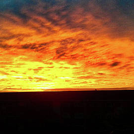 Sunrise From My Window by Rob Chiverton