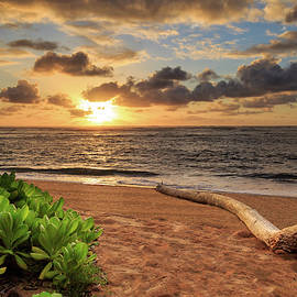 Sunrise In Kapaa by James Eddy