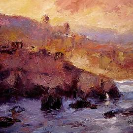 R W Goetting - Sunrise near Pismo Beach IV