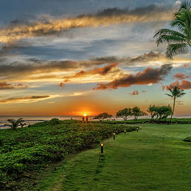 Sunrise Nukolii Beach Kauai Hawaii 7R2_DSC4747_01132018 by Greg Kluempers