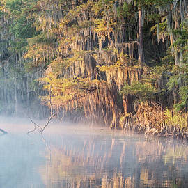 Scott Pellegrin - Sunrise on Big Cypress Bayou Texas