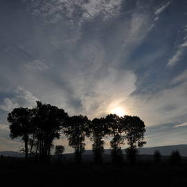 Heidi Fickinger - Sunrise on Eclipse Morning