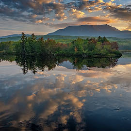 Sunrise on Mount Katahdin - Rick Berk