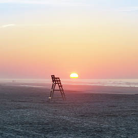 Bill Cannon - Sunrise on the Beaches of Wildwood New Jersey