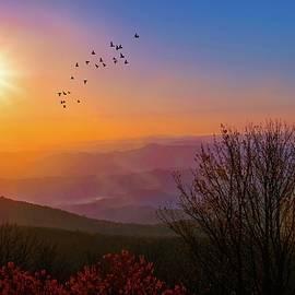 Lynn Bauer - Sunrise on the Blue Ridge
