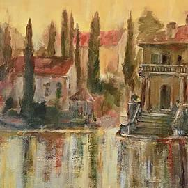 Alan Lakin - Sunrise on the Lake