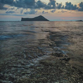 Sunrise On The Reef by Mitch Shindelbower