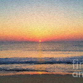 Sunrise Outer Banks Obx by Jeff Breiman