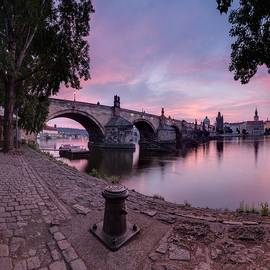 Ondrej Tichy - Sunrise over Charles Bridge