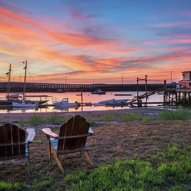 Sunrise Over Cook's Lobster House by Darylann Leonard Photography