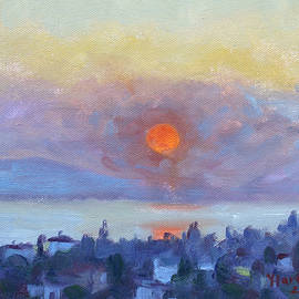 Sunrise over Dilesi Athens - Ylli Haruni