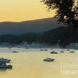 Sunrise Over Malletts Bay Panorama - Nine v2 Detail
