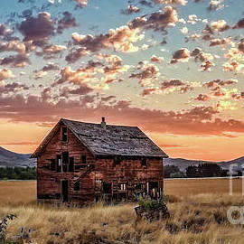 Sunrise Over Old Homestead by Robert Bales