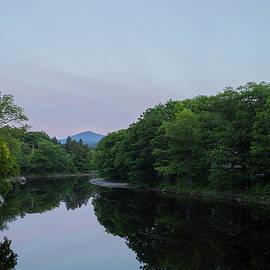 New England Photographic - Sunrise over Sugarloaf Mountain, Maine