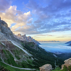 Sunrise Over The Dolomites by Kim Petersen