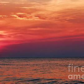 Sunrise Over The Horizon On Myrtle Beach by Jeff Breiman