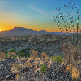 Rob Greebon - Sunrise over the Solitario in Big Bend 1