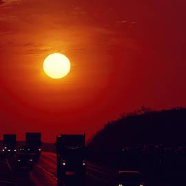 Sunrise rush hour by Eduard Moldoveanu