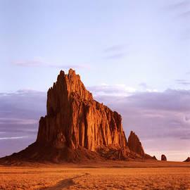 Sunrise Shiprock by Derrick Neill