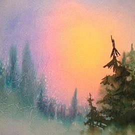 Sunrise Spruce by Teresa Ascone